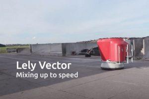 Lely introduceert een snellere vijzelmotor voor het Vector voersysteem.