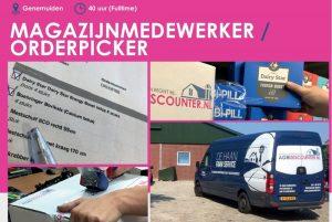Agridiscounter zoekt een magazijnmedewerker / orderpicker