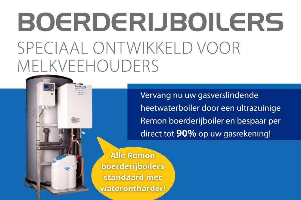 Remon Boerderijboiler AGRY HR ENERGY (Op aardgas of propaangas met HR-Geiser en Waterontharder)