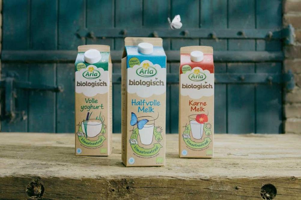 Arla komt met eerste klimaatneutrale zuivelproducten in Nederland
