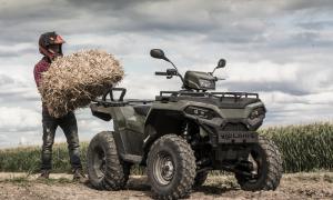 Nieuw! Polaris special edition quad voor agrarisch gebruik