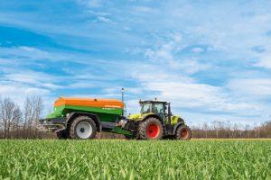 Afstellen apparatuur en precies werken, goed voor je grasland
